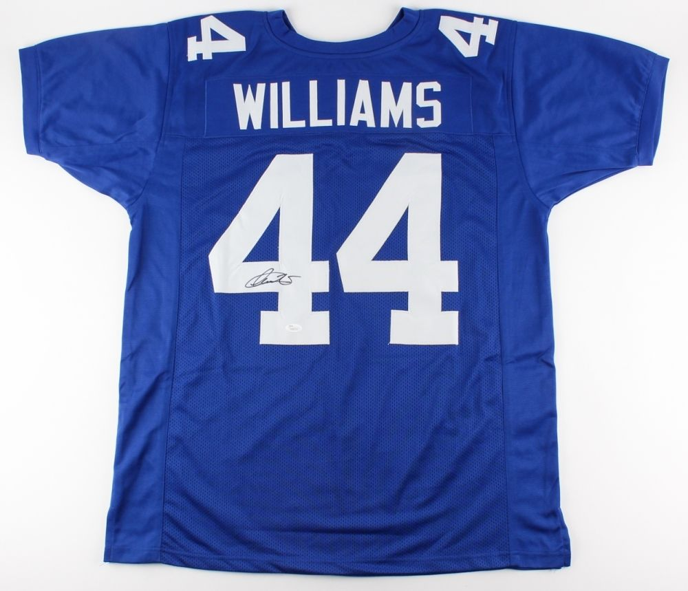 Andre Williams Signed New York Giants Jersey (JSA COA) First-team All-ACC (2013)