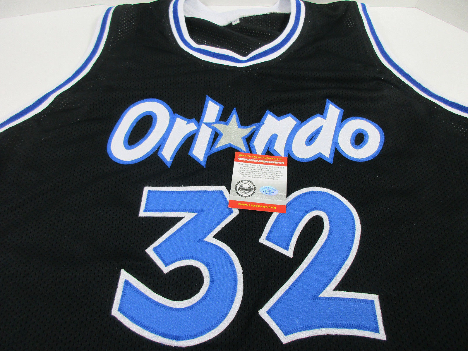 Shaquille O'Neal Signed Orlando Magic Jersey / NBA Rookie of the Year (1993) COA
