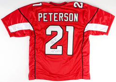 "Patrick Peterson Signed Cardinals Jersey Inscribed ""P2 Nation"" (JSA COA)"