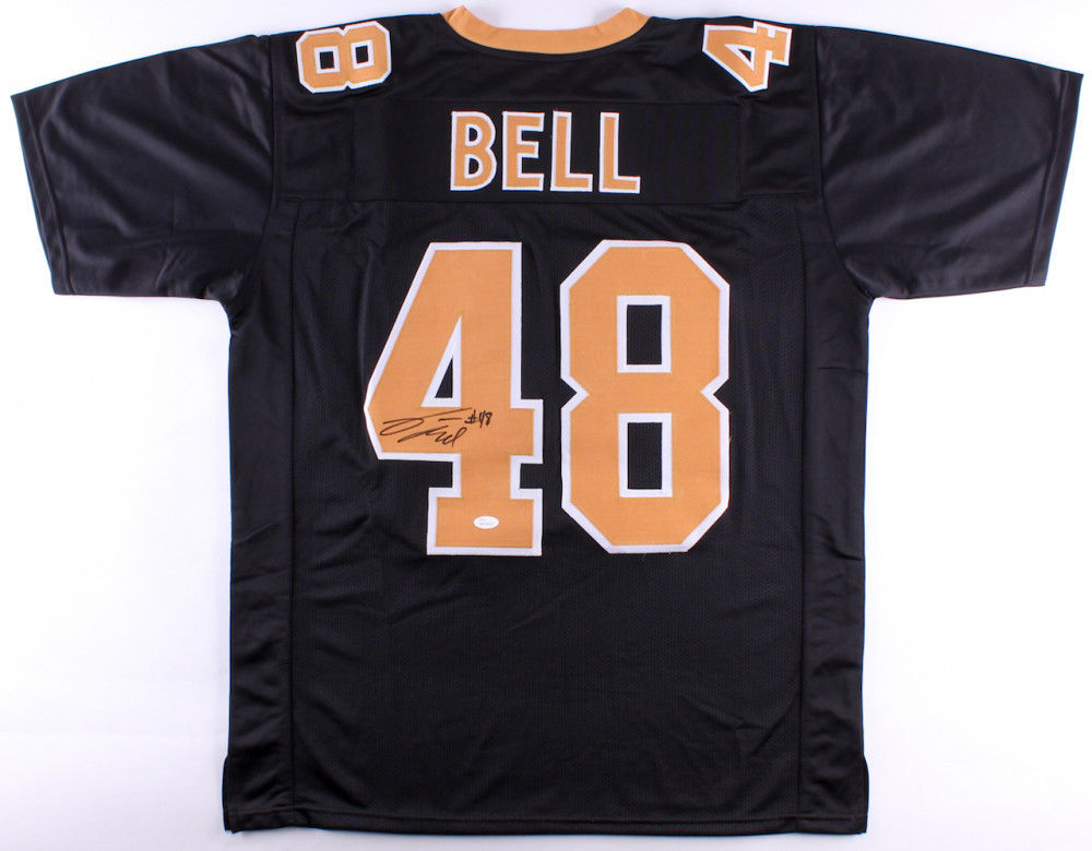 buy cheap 8b130 665a0 Vonn Bell Signed New Orleans Saints Black Jersey (JSA)Ohio State Buckeyes  Safety