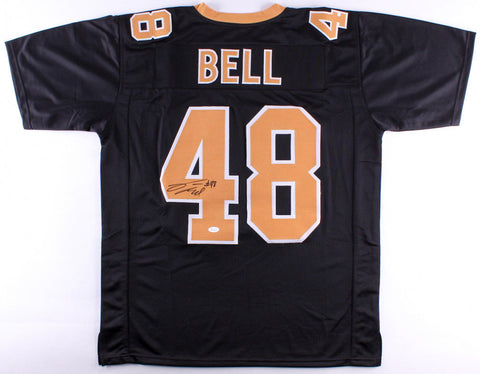 Vonn Bell Signed New Orleans Saints Black Jersey (JSA)Ohio State Buckeyes Safety