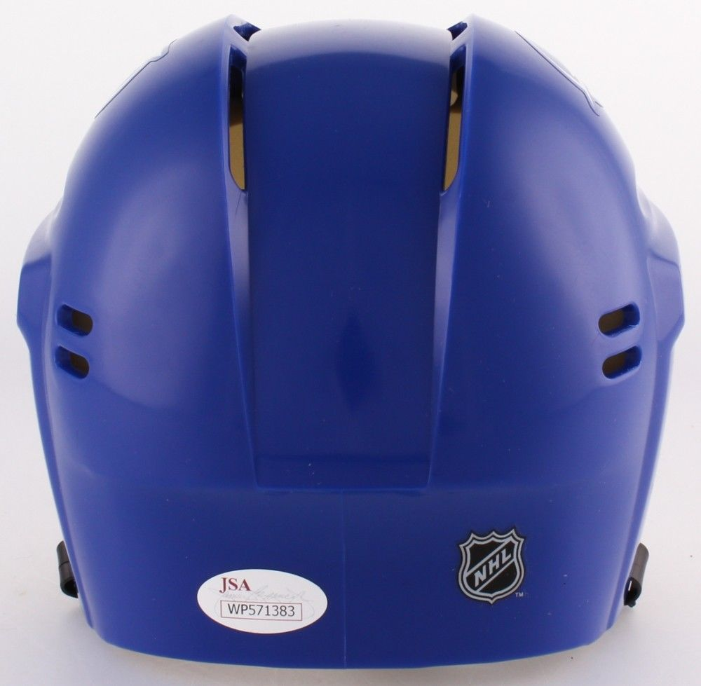 Nikita Kucherov Signed Blue Tampa Bay Lightning Mini-Helmet (JSA COA)