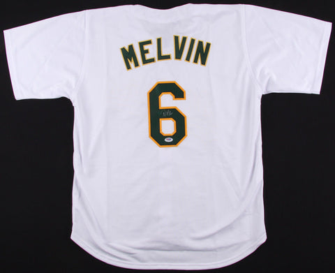 Bob Melvin Signed Athletics Jersey (PSA COA) Oakland Manager since 2011