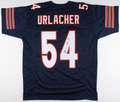 Brian Urlacher Signed Chicago Bears Blue Jersey (JSA Hologram) 8x Pro Bowl L.B.