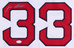 Jose Canseco Signed Red Sox Jersey (JSA) 6x All Star / 2x World Series Champ