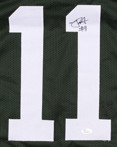 Robby Anderson Signed Jets Green Jersey (JSA COA)2017 New York #1 Wide Receiver