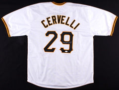 Francisco Cervelli Signed Pittsburgh Pirates Jersey (JSA Hologram) Catcher