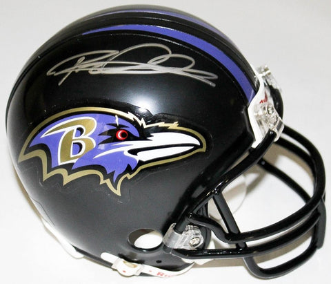 Rod Woodson Signed Ravens Mini Helmet (Schwartz COA) Super Bowl champion (XXXV)