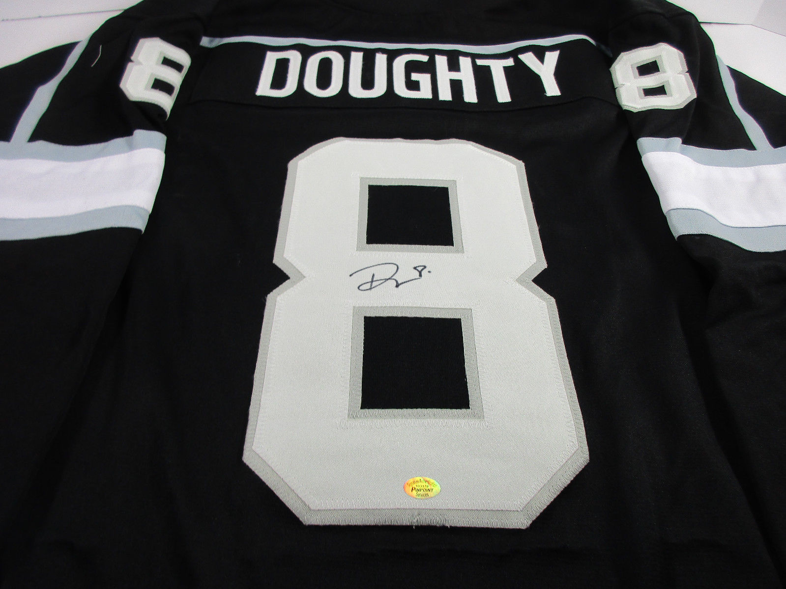 Drew Doughty Signed Los Angeles Kings Jersey / #2 Overall pick 2008 NHL Draft