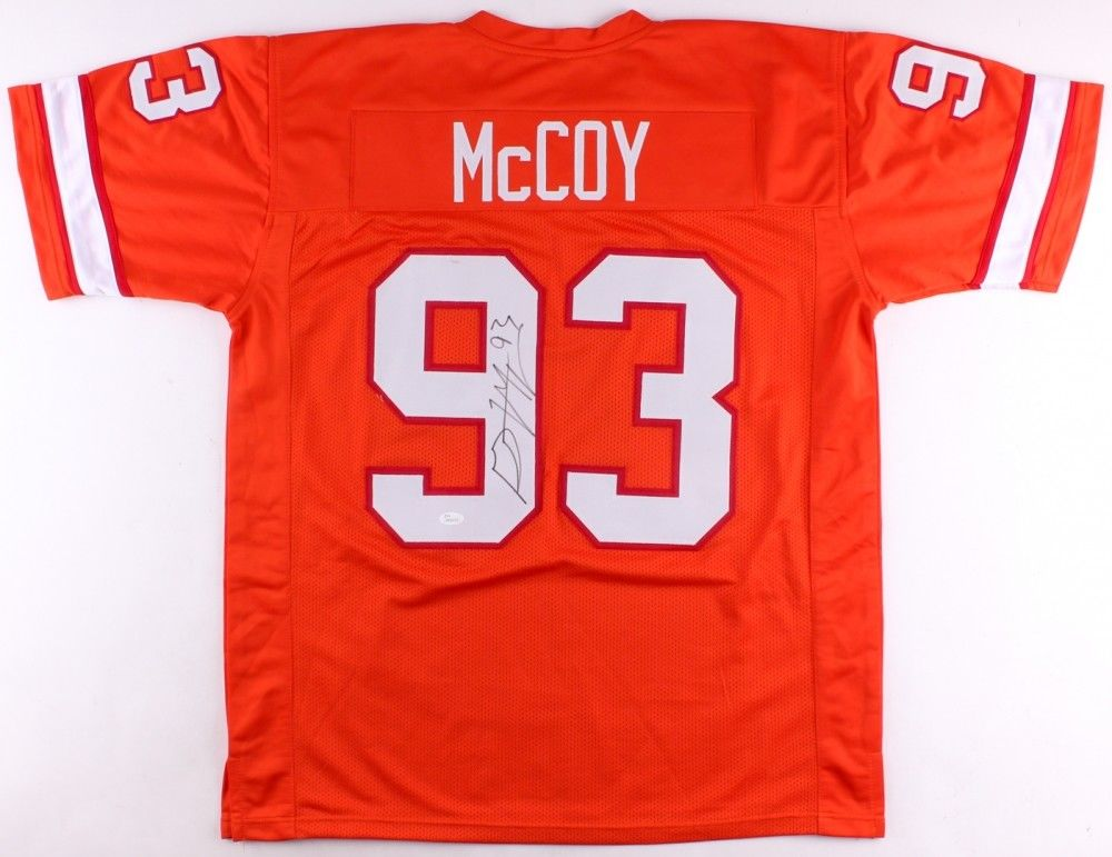 official photos dc279 408fb Gerald McCoy Signed Tampa Bay Buccaneers Jersey (JSA COA) Creamsicle  Throwback