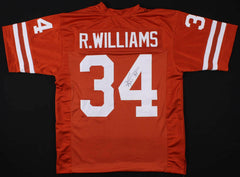Ricky Williams Signed Texas Longhorns Jersey (AAA Hologram) 1998 Heisman Trophy