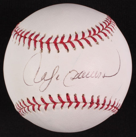Andre Dawson Signed 2004 World Series Baseball (JSA COA) Cubs Expos Red Sox