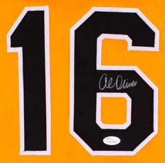 Al Oliver Signed Pirates Jersey (JSA) 7× All-Star (1972, 1975, 1976, 1980–1983)