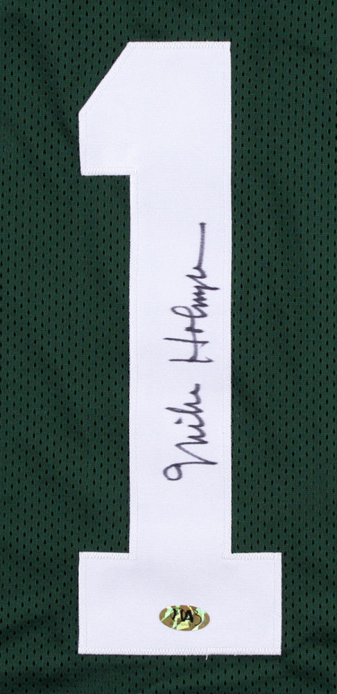 Mike Holmgren Signed Green Bay Packers Jersey (MAB) 3x Super Bowl Champion Coach