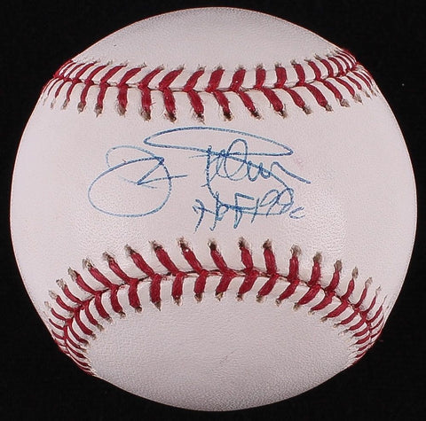 "Jim Palmer Signed OML Baseball Inscribed ""HOF 1990"" JSA COA 268 Wins / 2,212 K's"
