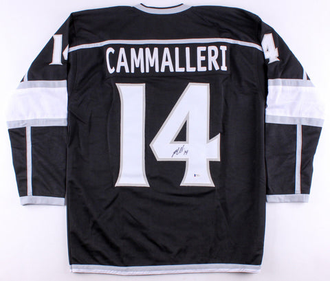 Michael Cammalleri Signed Los Angeles Kings Jersey (Beckett)16 Year NHL Veteran