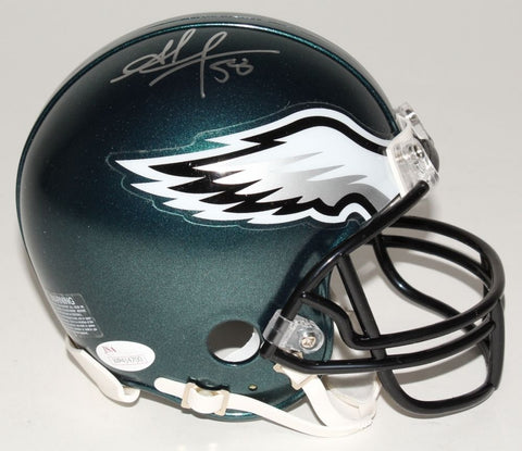Jordan Hicks Signed Eagles Mini-Helmet (JSA) Philadelphia Linebacker /U of Texas