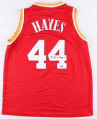 Elvin Hayes Signed Houston Rockets Jersey (Tristar)