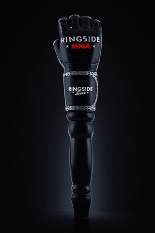 RINGSIDE BEER BLACK MMA TAP HANDLE