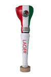 MEXICO FLAG - RINGSIDE BEER LAGER TAP HANDLE