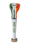 IRELAND FLAG - RINGSIDE BEER RED ALE TAP HANDLE
