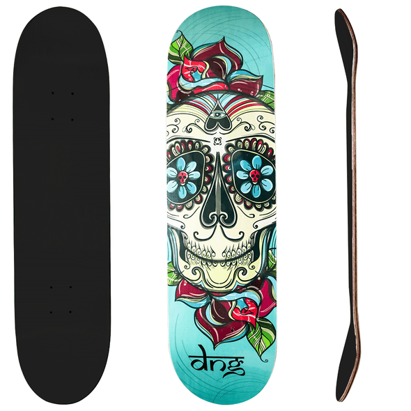 DNG Skateboards クールスカル デッキのみ