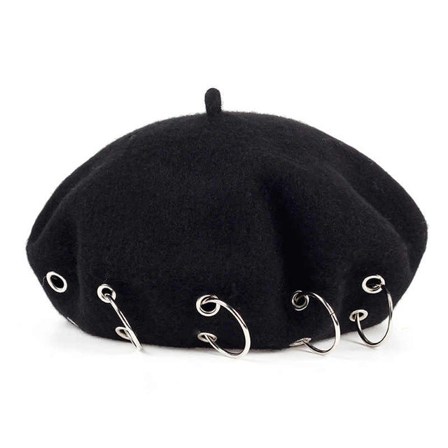 Beret with rings - buyandpossess