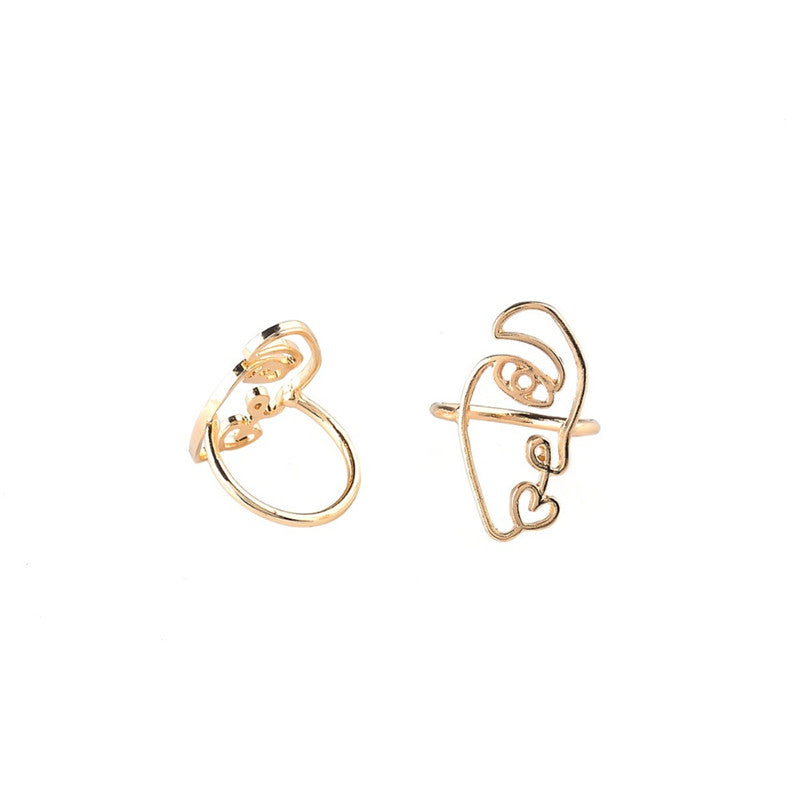 Faces fashion Ring Set