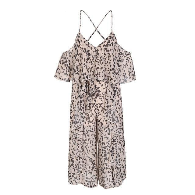 Backless Floral Jumpsuit - buyandpossess