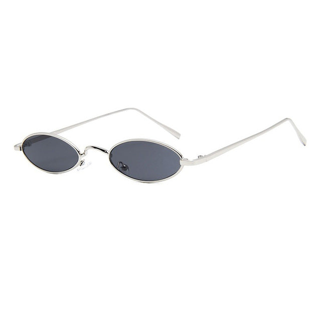 Retro Round Sunglasses with Metal Frame - buyandpossess
