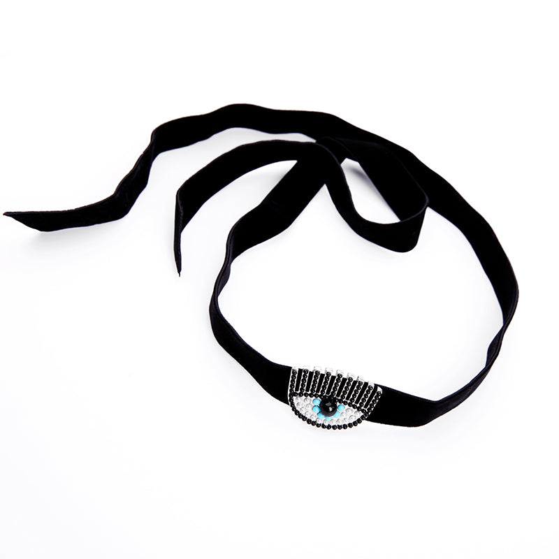 Eye Decor Fashion Choker - buyandpossess