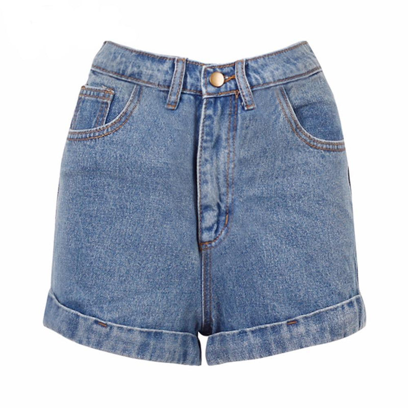 Basic Denim Shorts - buyandpossess