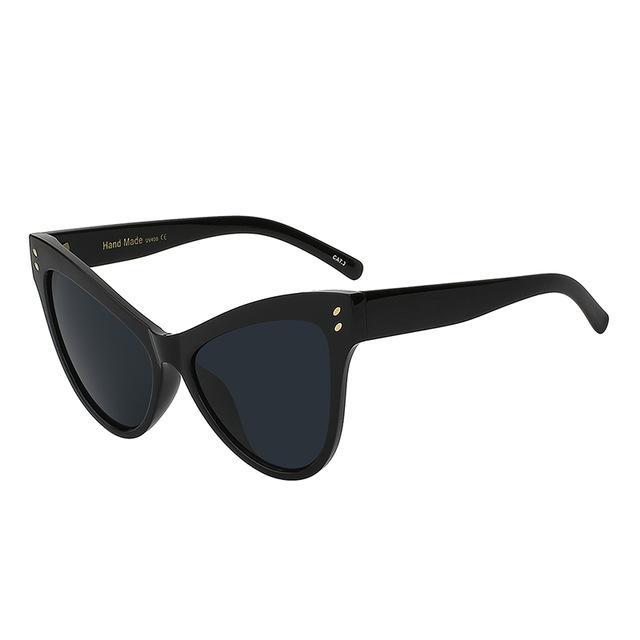 Cat Eye Oversized Sunglasses - buyandpossess