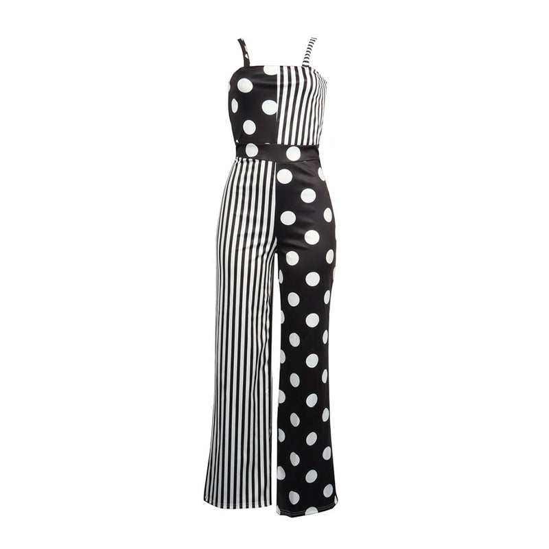 Dots And Stripes Jumpsuit - buyandpossess