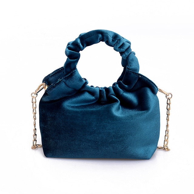 Ruched Handle Handbag