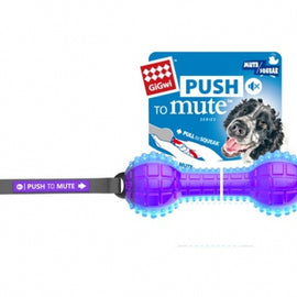 GiGwi Push To Mute Dumbell