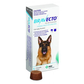 Bravecto Large Dog Blue 20Kg-40Kg