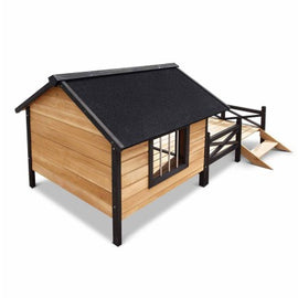 Dog Kennel With Patio
