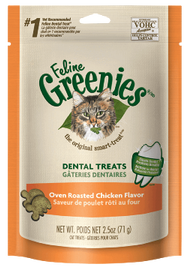 Greenies Cat Treats Oven Roasted Chicken 71g