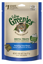 Greenies Cat Treats Tempting Tuna 71g