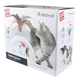 GiGwi Pet Droid Feather Spinner