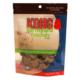 Kong Farmyard Friends Smoked Bacon Flavour Biscuit Treat 200g