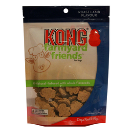 Kong Farmyard Friends Roast Lamb Flavour Biscuit Treat 200g