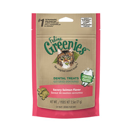 Greenies Cat Treats Savory Salmon 71g