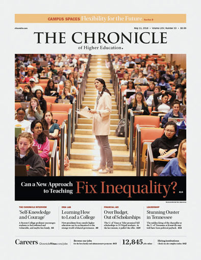 The Chronicle of Higher Education, May 11, 2018
