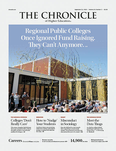 The Chronicle of Higher Education, September 21, 2018