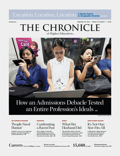 The Chronicle of Higher Education, September 28, 2018