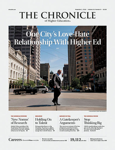 The Chronicle of Higher Education, November 2, 2018