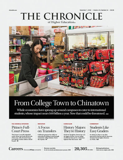 The Chronicle of Higher Education, December 7, 2018