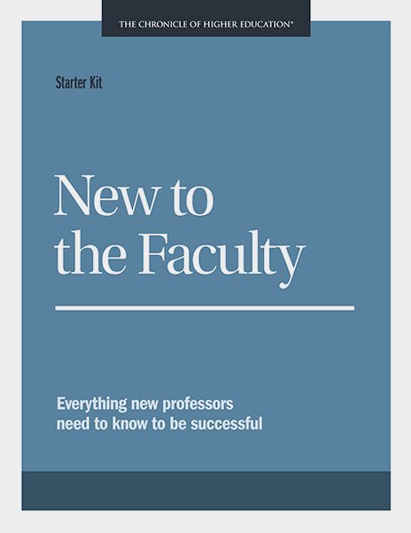 Starter Kit: New to the Faculty
